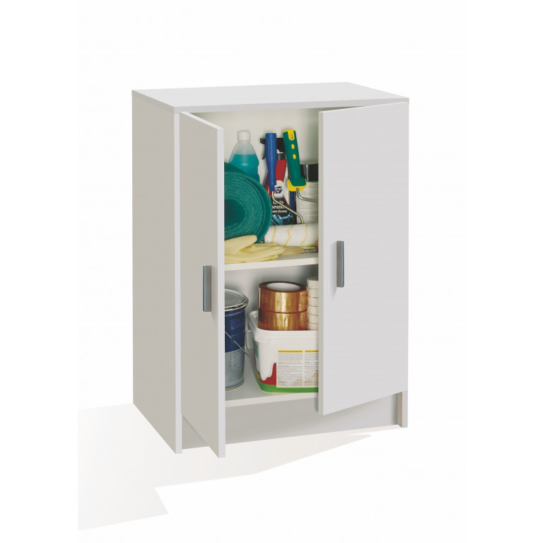 Mueble bajo multiusos USE 005149O color blanco.