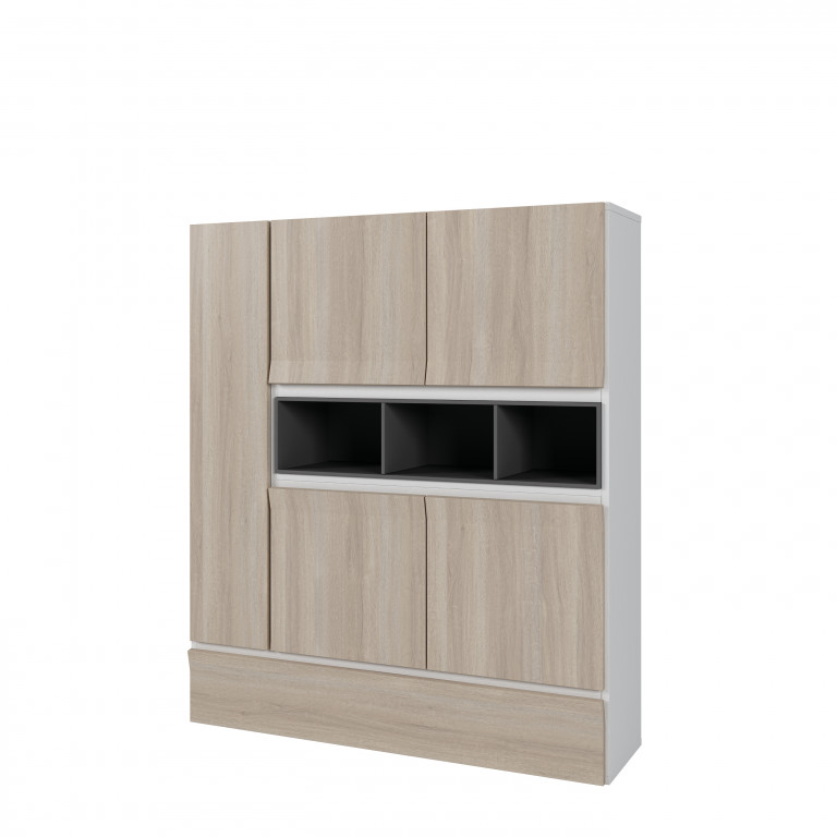 Mueble bar color roble aurora HI-4002