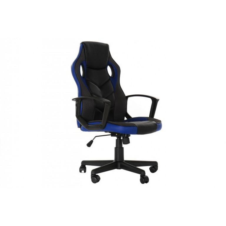 Silla PU Metal Gaming Color Azul MB 178984 61X66X106